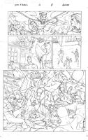 Xmen pencil pages 08 by amilcar-pinna