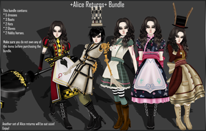 Alice Madness Returns Bundle I by P-H-A-R-M-A-C-I-S-T