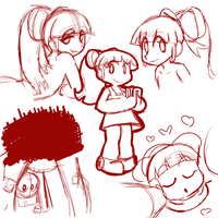 wife doodles by FuPoo