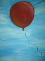 lucky red balloon by mittens10