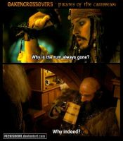 Oakencrossover #12: Pirates of the Caribbean by PeckishOwl