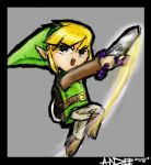 Toon Link by idiotbassist62090