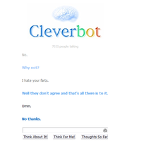 Cleverbot?! by TheIndianaCrew