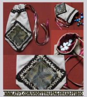 Luxury Anubis Pouch: Great for Tarot, Dice etc. by ImogenSmid