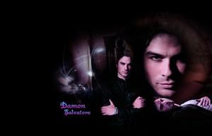 Damon Salvatore by razerblade-10