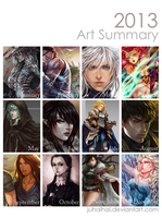 Art Summary 2013 by juhaihai