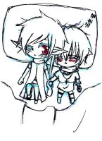 Alan and Helmy Doodle by angelz-devil