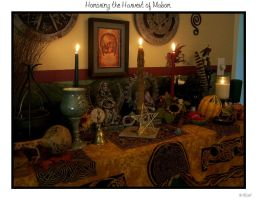 Honoring the Harvest of Mabon by LadyAutumnDesigns