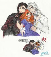 OC: Autumn and the Princes of Underland by Kiyomi-chan16