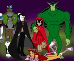 Halloween - TT Style by Gil by teentitans