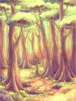 Hundred acre woods by ImaginaryLea