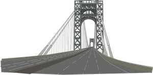 George Washington Bridge by OceanRailroader