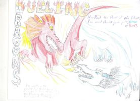 Dueling Dragons by SuburbanWulf