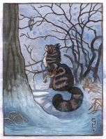 Cat Seasons: Winter by emla