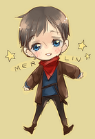 MRLN: Merlin is Magic by bone-kun