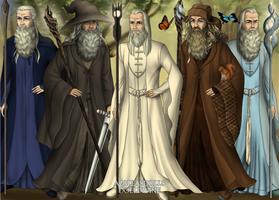 The Five Wizards by jjulie98