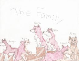 The Family -UPDATED- by CanineCanvas