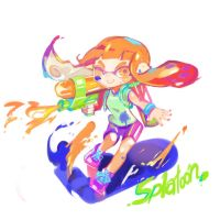 Splatoon by zigemu