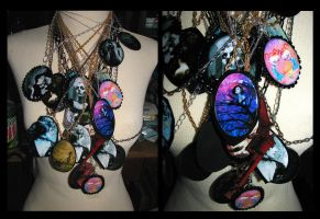 TONS of New Art Necklaces by asunder