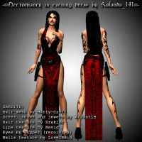 Necromancy in dress mod by HailSatana