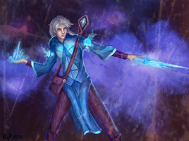 Ice mage by R-Aters
