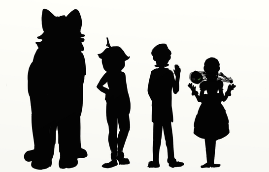 Character Silhouette by PaintSplatKat