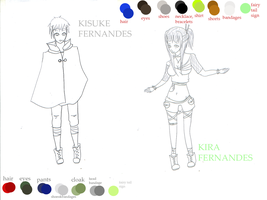 Kira and Kisuke Fernandes FTNG by LotteQ