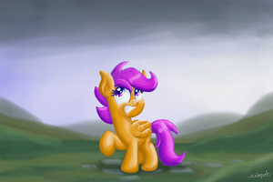 Impending Rain by scrimpeh