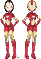 I am Iron Woman by TheAwesomeBoss