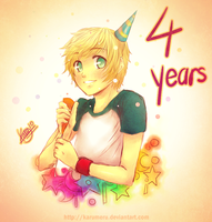 4 years by karumeru