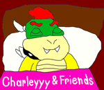 Bowser Sleeping in his Own Bed by MikeEddyAdmirer89