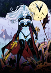 Lady Death Colour by JJColours