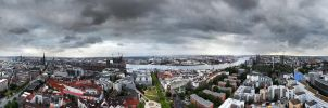Hamburg 360 degree by MichiLauke