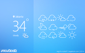 Weather-icon-line-by-svgstock by SVGStock