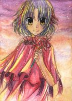 """53rd ACEO """"L y c o r i s"""" by Hime-chama"""
