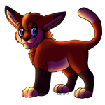 CM - Marr the Chibi Canthir by Miffet