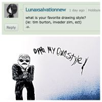 Question: what is your favorite drawing style? by CharlestheComicArtis