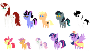 Pony pack 16 by Zacatron94