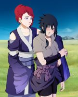 Atsuka and Sasuke .:GB:. by Palmtop-Peanut