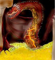 Smaug by Selinelle