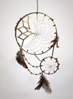 Steampunk Dreamcatcher by Kamylle