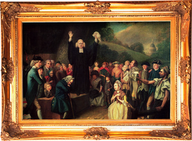 George Whitefield Framed by projector22