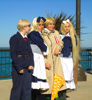 APH Cosplay-Happy Soviet Family by nursal1060
