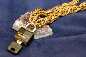 Persiantine Padlock Chain by ShannonIWalters