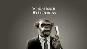 Chimp gun by StArL0rd84
