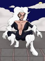 90's Black Cat by CycKath