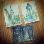 New York Postcards by GalileeMorningstar