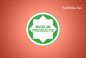 Muslim Products Logo (Vector) by zestladesign