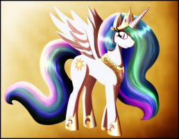 Princess Celestia by zeiram0034