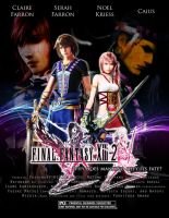 Final Fantasy XIII-2 Movie Poster by RyoSinna
